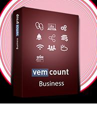 Vemcount footfall data analytics business software