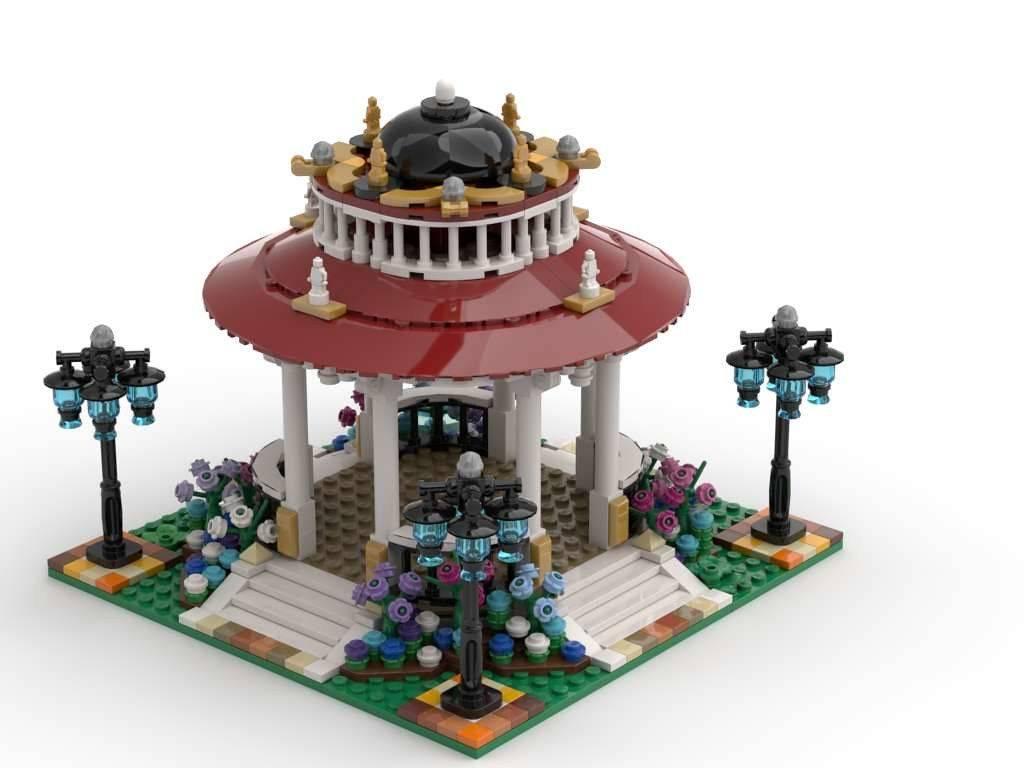 lego Garden gazebo