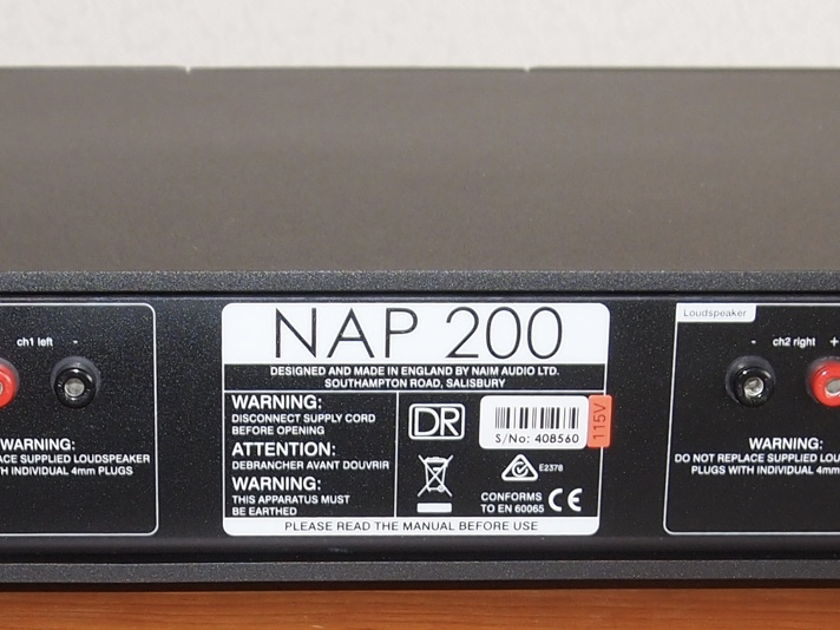 Naim Audio NAP-200DR 4 months old