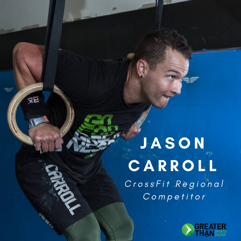 Jason Carroll Crossfit Regional Competitor