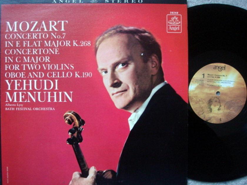 EMI Angel / MENUHIN, - Mozart Violin Concertos No.7, MINT!