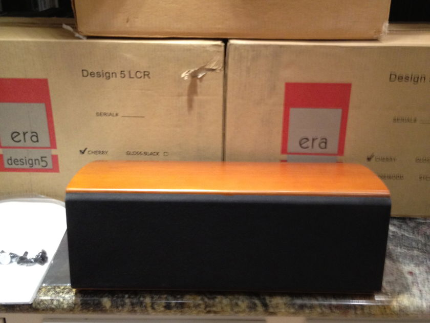 Era Acoustics / Peachtree Audio: Design 5 LCR (3 speakers available - cherrywood)