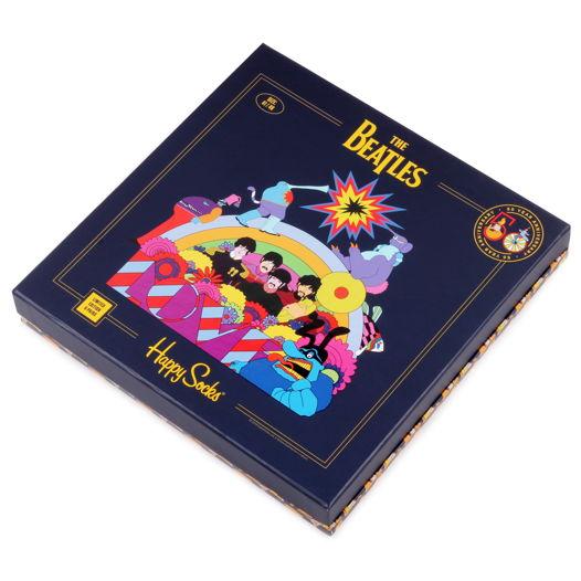 Happy Socks x The Beatles Yellow Submarine Набор из 6-ти пар носков в подарочной