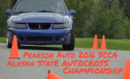 SCCA Pearson Auto July 2016 Solo Weekend