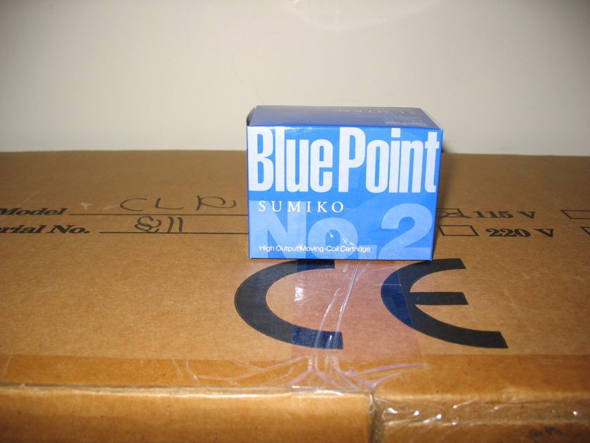 Sumiko Blue Point No. 2 High Output MC New