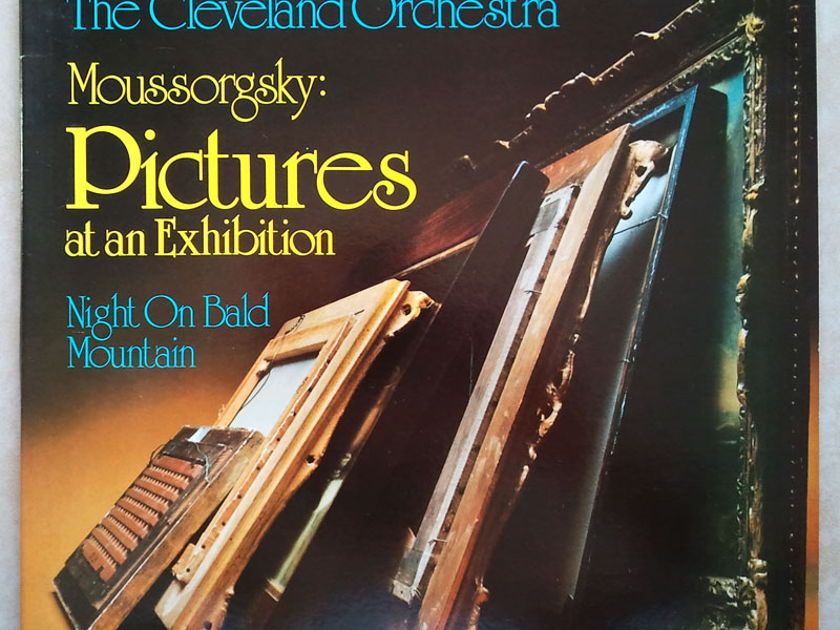 Audiophile Telarc/Maazel/Moussorgsky - Pictures At An Exhibition, Night On Bald Mountain / NM