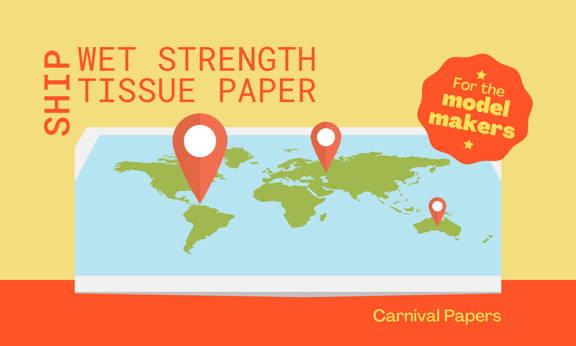 wet strength tissue paper worldwide shipping