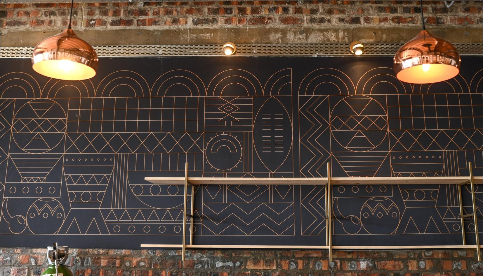 Ukhamba Beerworx Mural Design