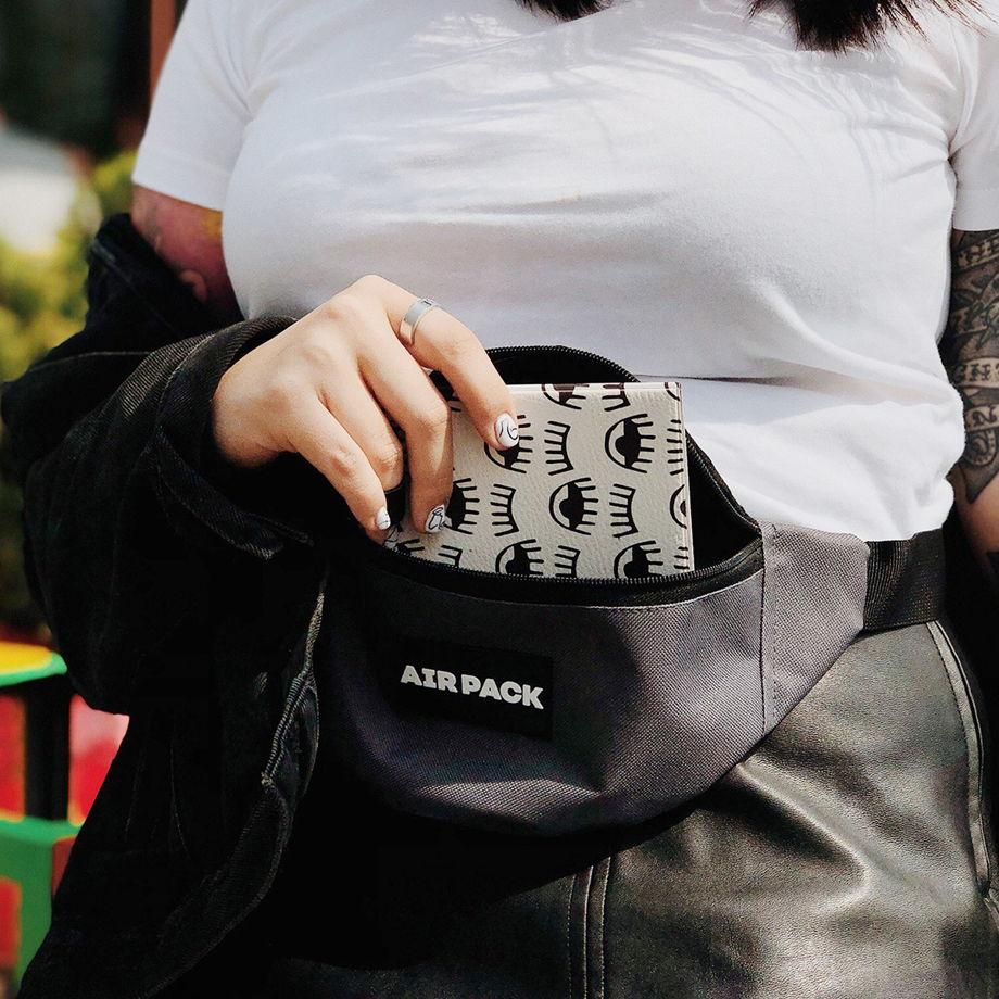 Поясная сумка с водоотталкивающим покрытием