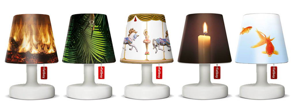 Rechargeable Outdoor Table Lamps Edison-the-Petit by Fatboy