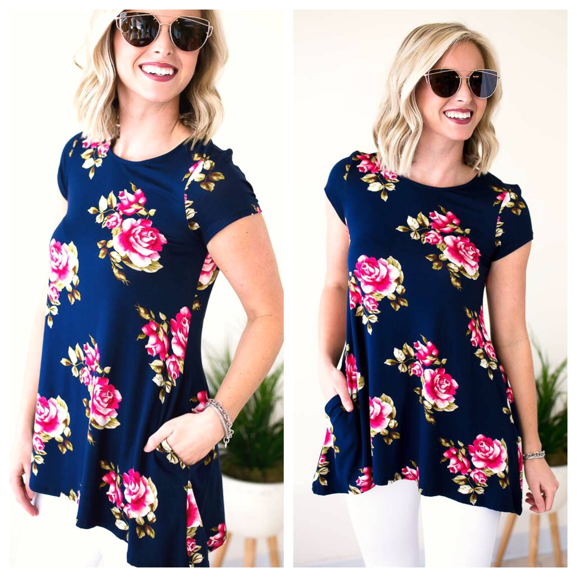 Foral Tops
