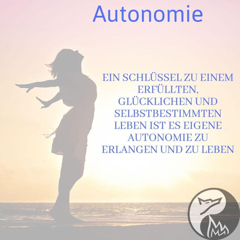 Autonomie - Ein Schlüssel zu.. (DE/EN)