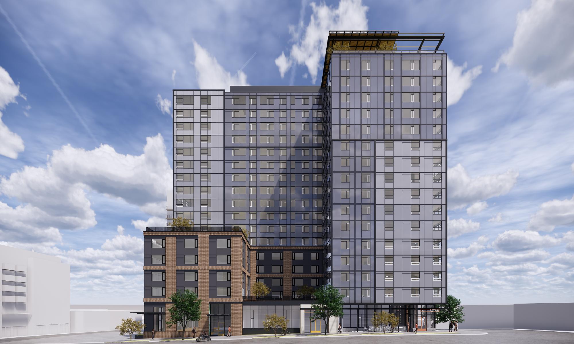 Madison/Boylston Tower Rendering