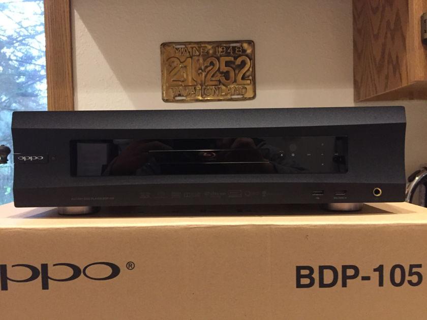 Oppo Digital BDP-105 Oppo BDP-105 MINT Condition