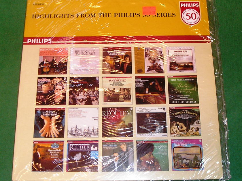 """HIGHLIGHTS FROM THE PHILIPS 50 SERIES - * RARE """"MADE IN ENGLAND"""" PRESS * COLLECTOR'S ITEM in FACTORY SHRINK NM 9/10"""