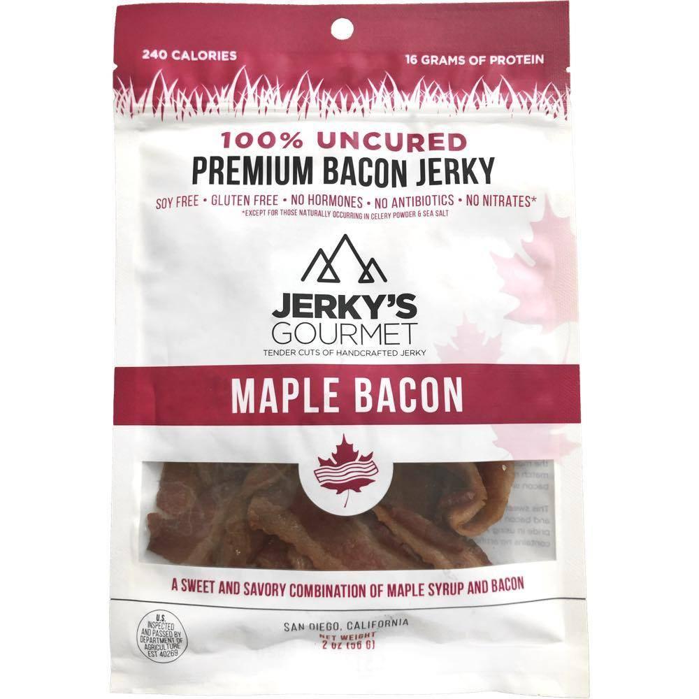 Jerky's Gourmet Maple Bacon Jerky