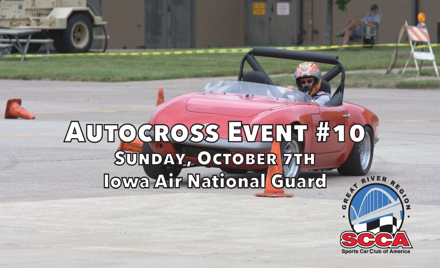 Great River Region Autocross Event #10