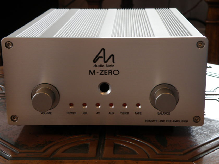 AUDIO NOTE  M-ZERO REMOTE PRE-AMP