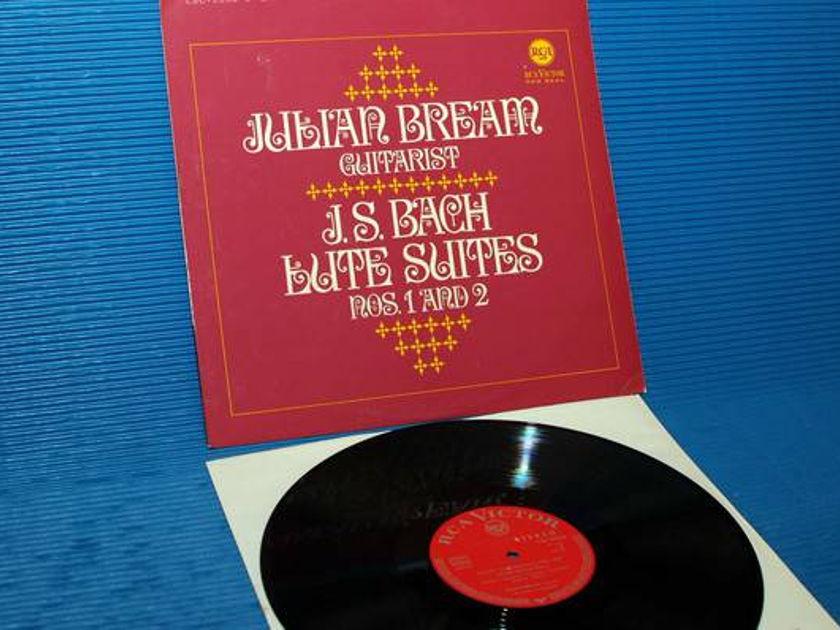 "JS BACH/Julian Bream -  - "" Lute Suites 1 & 2"" -  RCA Germany/Teldec 1966"