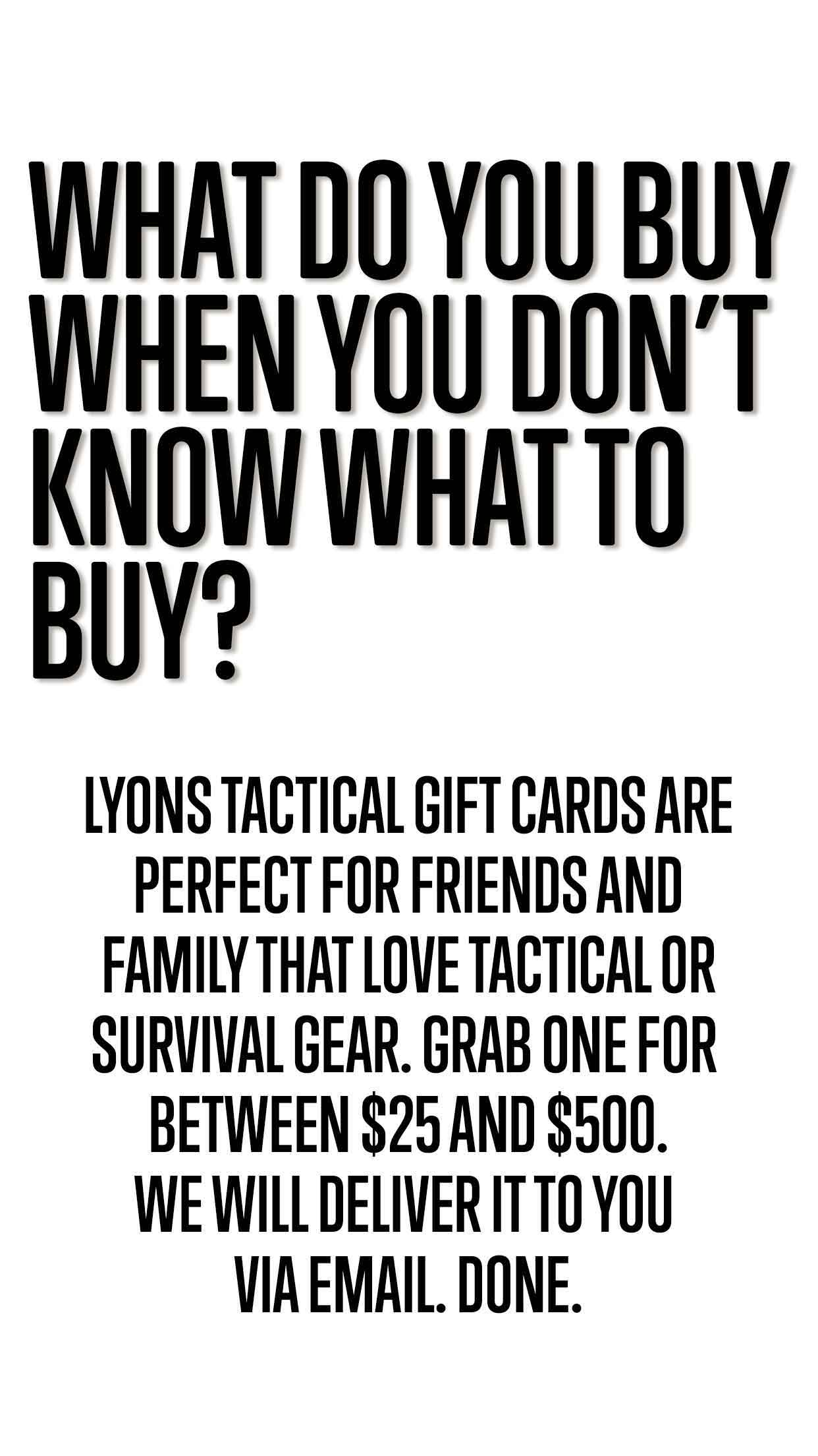 picture promoting buying gift cards