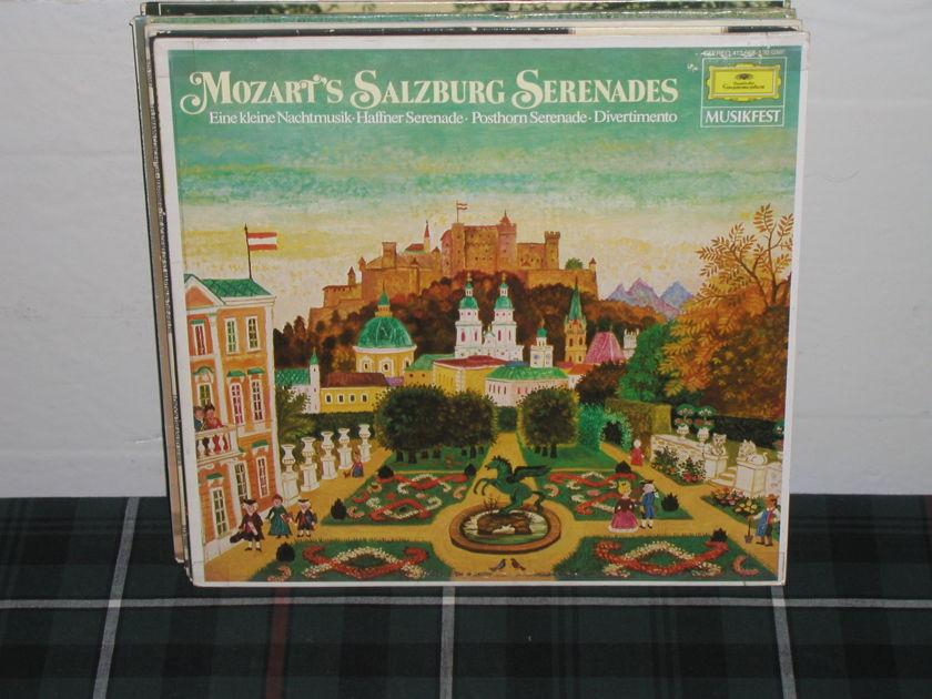 Von Karajan/BPO - Mozart Serenades DG German import LP