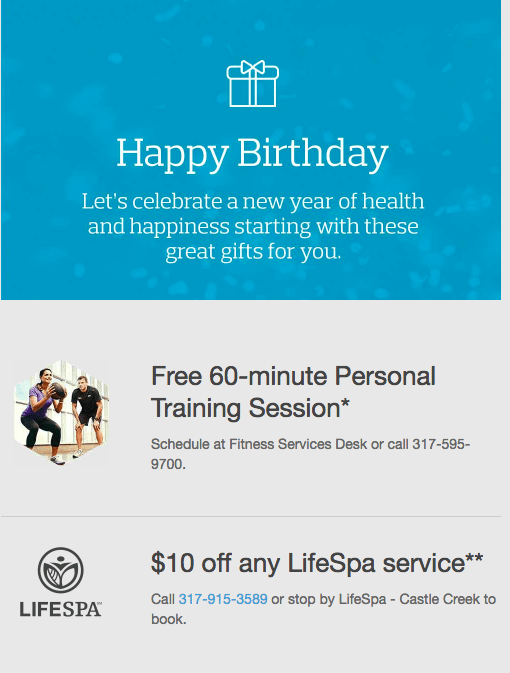 Birthday Offer - Dynamic Content - Email Marketing