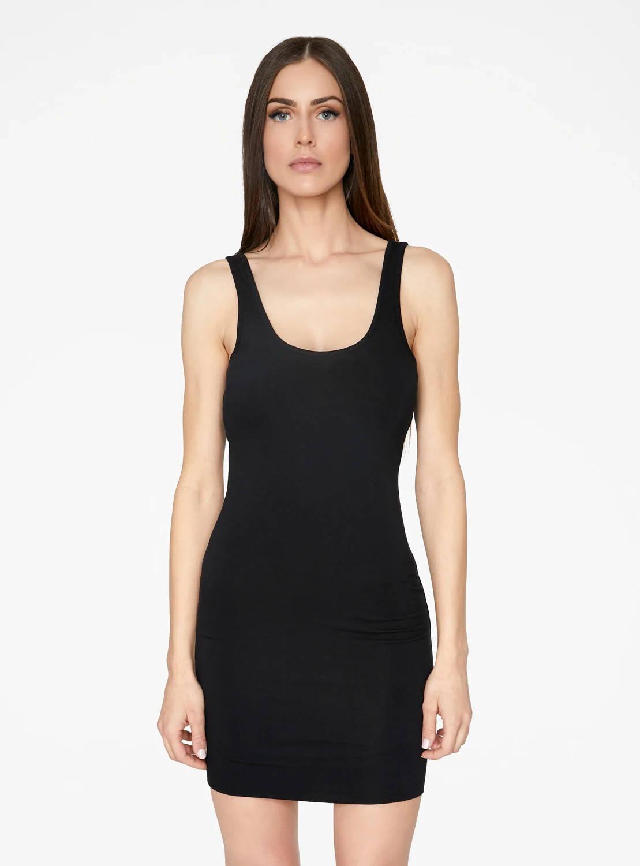 HeyYou Basic Black Tank Mini Bodycon Dress Regular price $48.00 Sale price $36.00