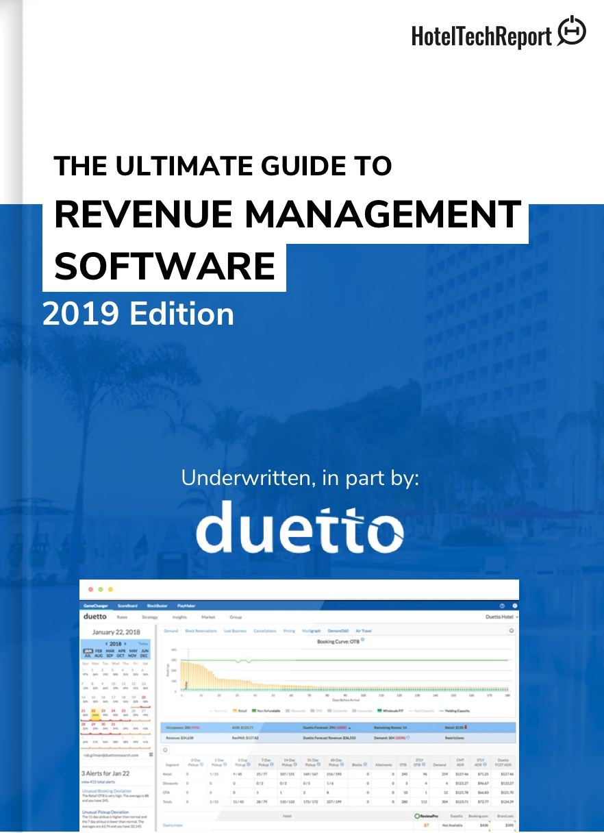 Revenue Management Software - Ratings and Reviews - Hotel Tech Report