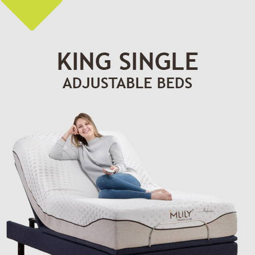 King Single Adjustable Beds