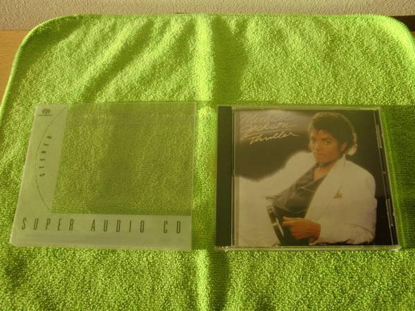 M.Jackson Ultra Rare - Thriller/sacd out of print/near mint!