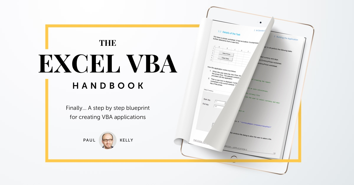 The Excel VBA Handbook