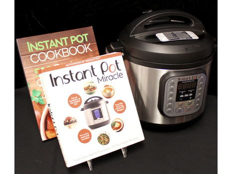 Instant Pot and Cookbooks