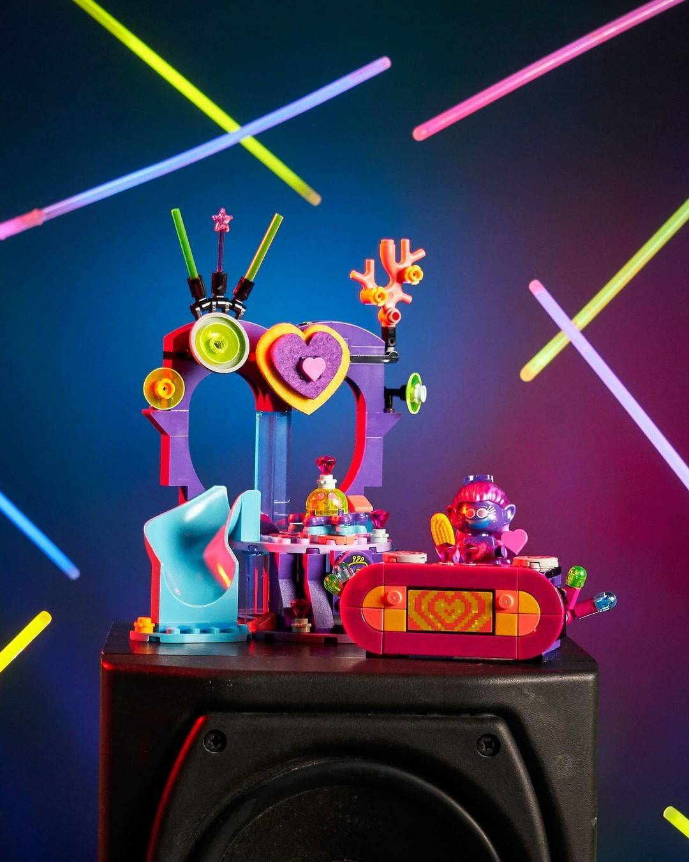 LEGO Trolls 41250 Techno Reef Dance Party