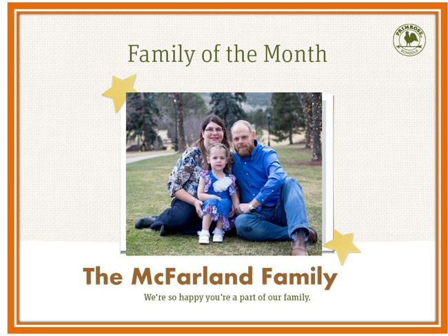 MacFarland Family of the Month