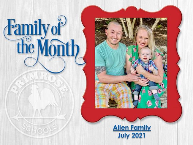July 2021 - Allen Family