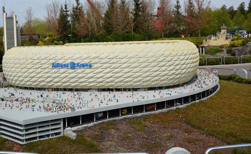 Allianz Arena model