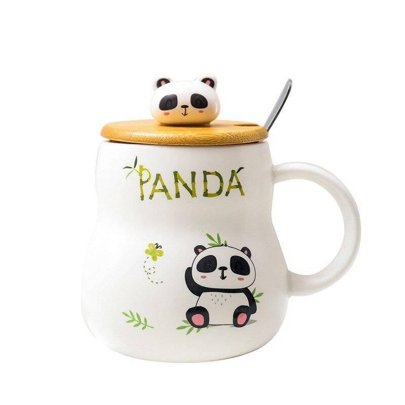 trousse tete de panda douce
