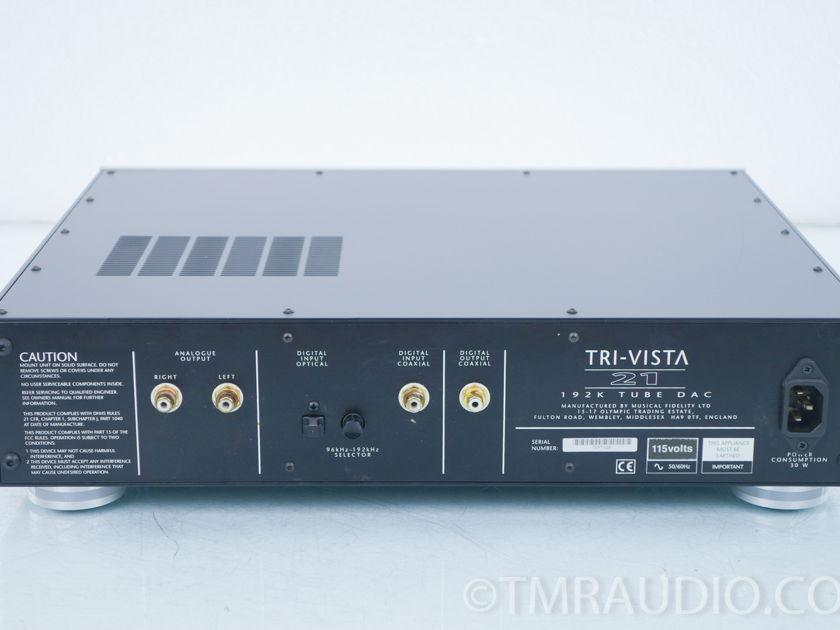 Musical Fidelity Tri Vista 21 Tube DAC; D/A Converter (8423)