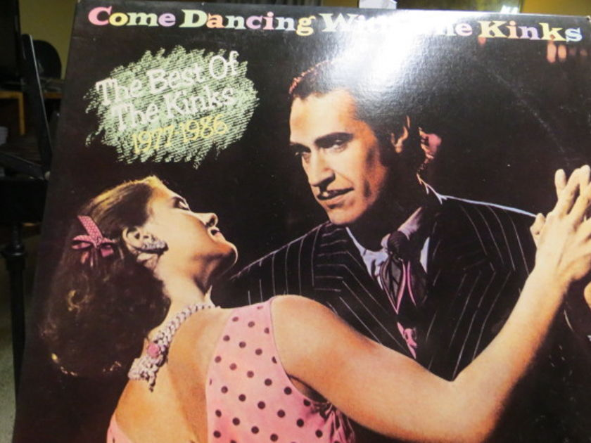 THE KINKS - COME DANCING WITH THE KINKS 2 LP BEST OF 1977-1986