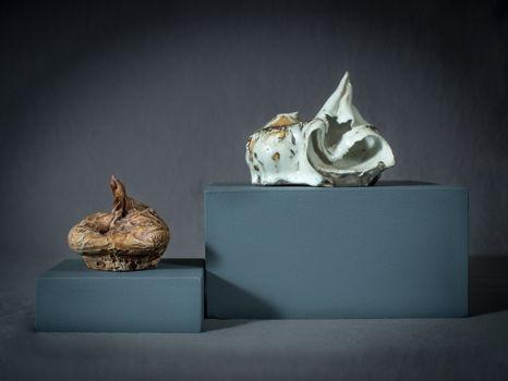 A Pair of Bang Pots by Steve Tobin