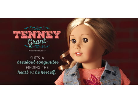 Tenney American Girl Doll