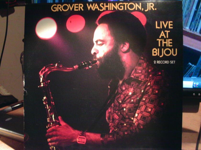 GROVER WASHINGTON - LIVE AT BIJOU 2 album set live