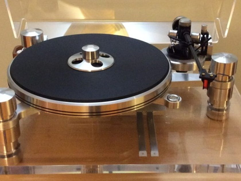 Oracle Delphi mkV turntable w/ Opt Turbo PS & Dust Cover