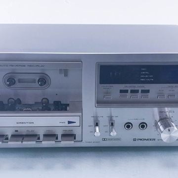 CT-F750 Vintage Stereo Cassette Deck