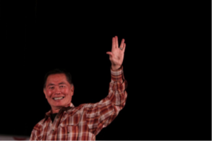Hey Hollywood: Beam Me Up for Bi Sulu!