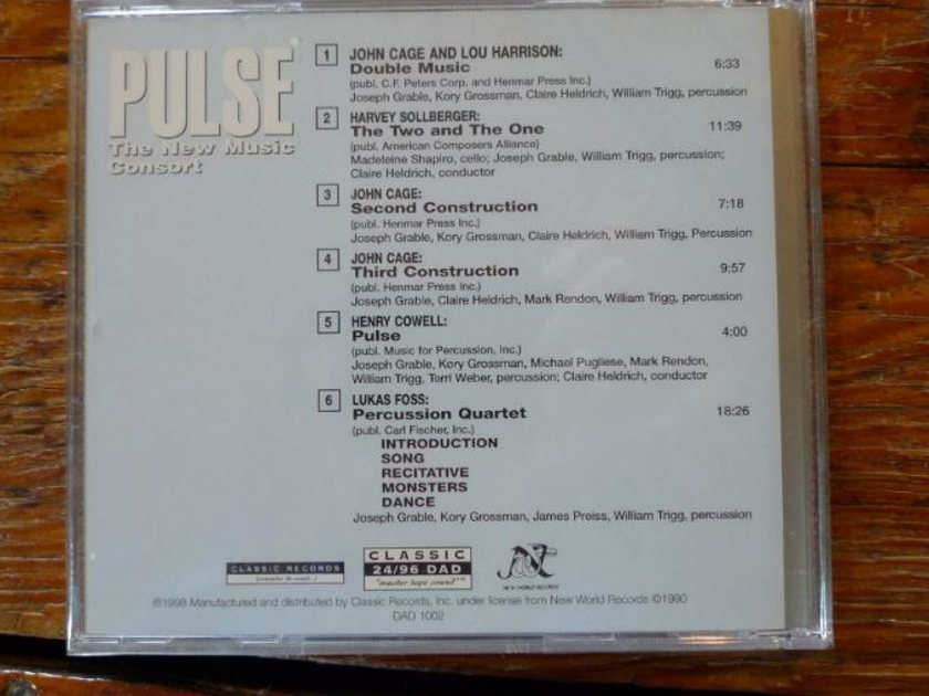 John Cage/The New Music Consort - PUlse Classic Records 24/96 DVD-A