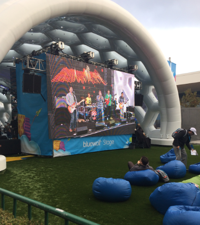 Dreamforce had its kindergarten, perverse chic working full tilt.