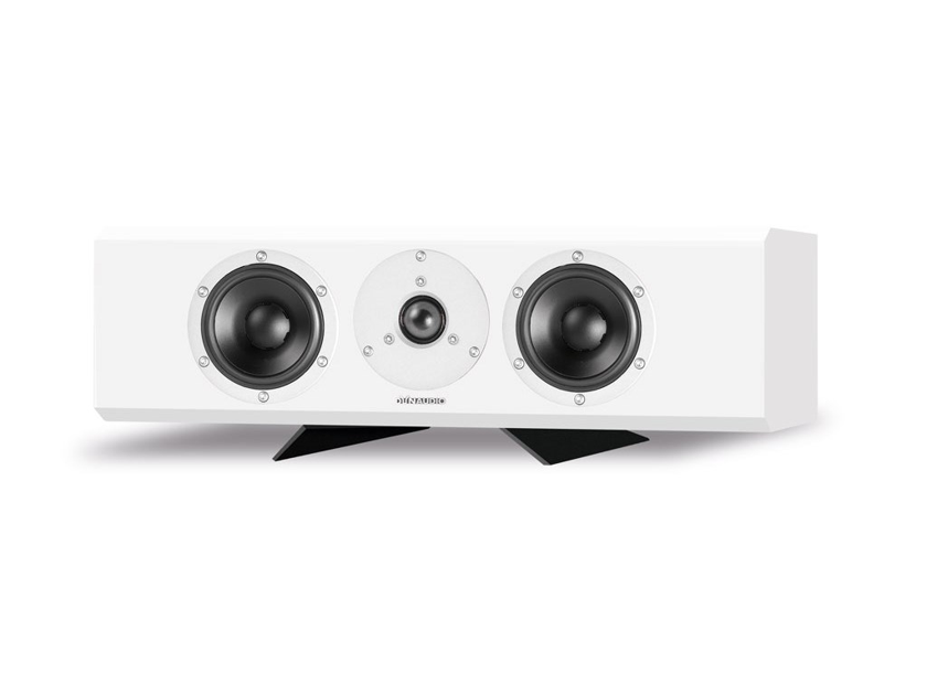 DYNAUDIO EXCITE X22 CENTER - NEW - GLOSS WHITE - STAND AND BLACK GRILL