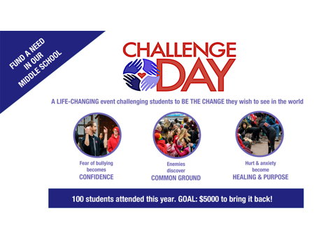 Special Appeal - Challenge Day at STMS