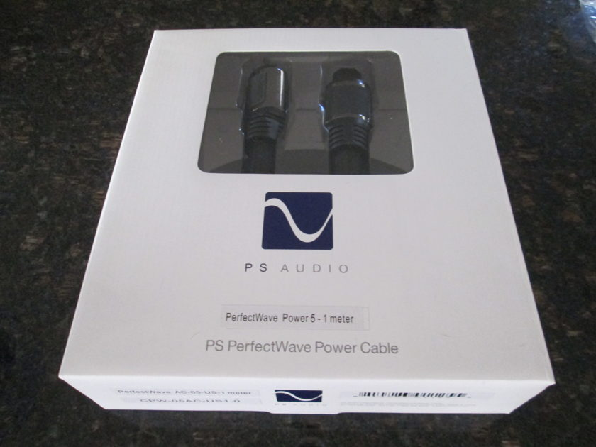 PS Audio AC-5   1 Meter Power Cord